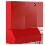 Щит пожарный с ящиком для песка 0,3 м³ закрытый метал. без окон 1300*1500*500
